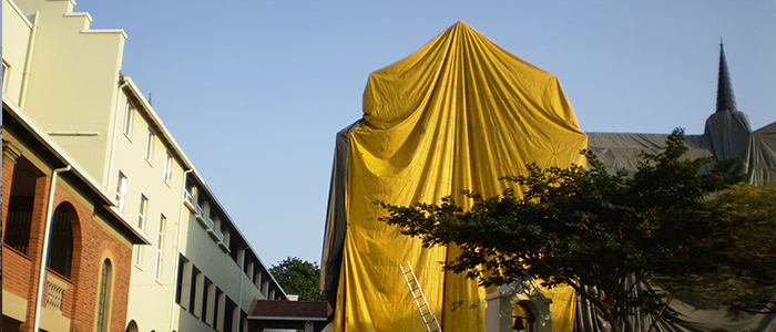 Woodborer Fumigation & Spot Treatment, Tented Fumigation - Service Master